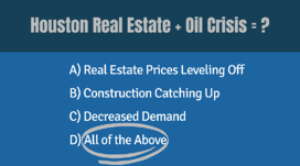 Houston Real Estate Oil Crisis