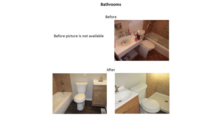 1507 bathrooms