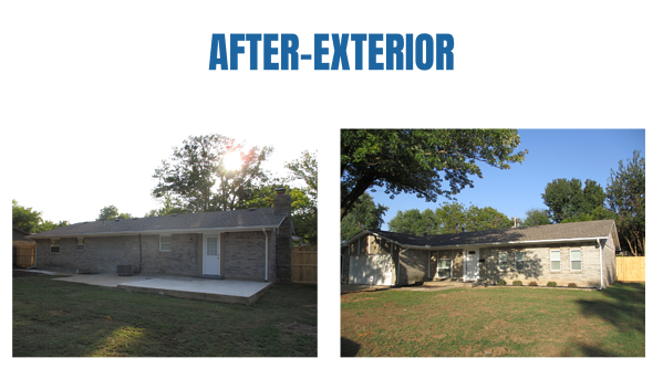 """Photo collage of """"after"""" exterior photos"""