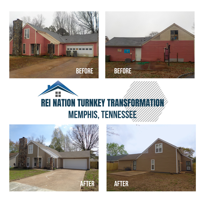 REI Nation Turnkey Transformation: Memphis, Tennessee
