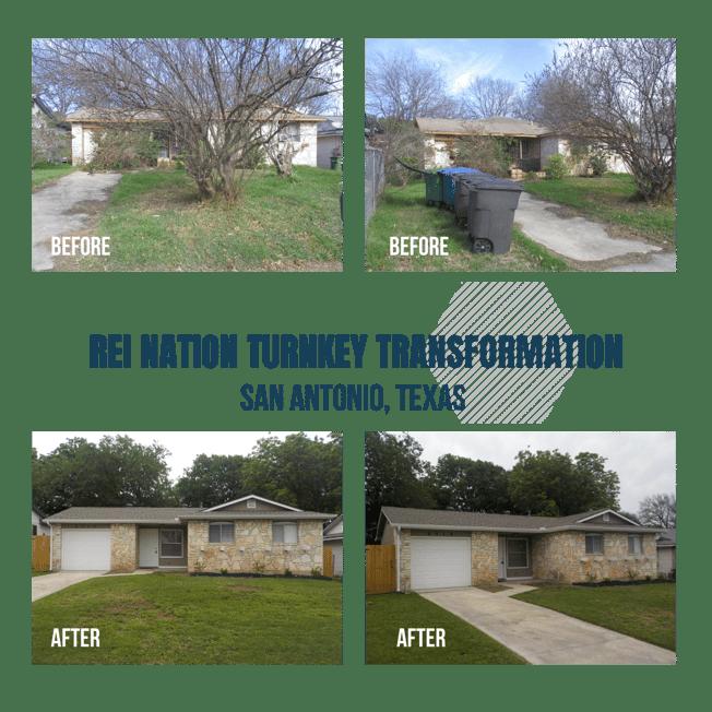 REI Nation Turnkey Transformation: San Antonio, Texas