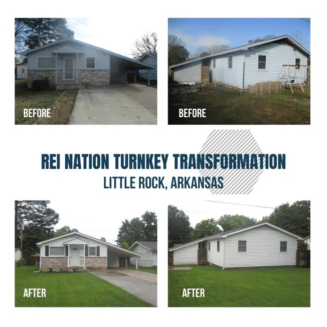 REI Nation Turnkey Transformation: Little Rock, Arkansas