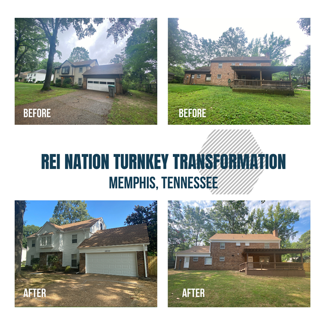 REI Nation Turnkey Transformation: Memphis, TN