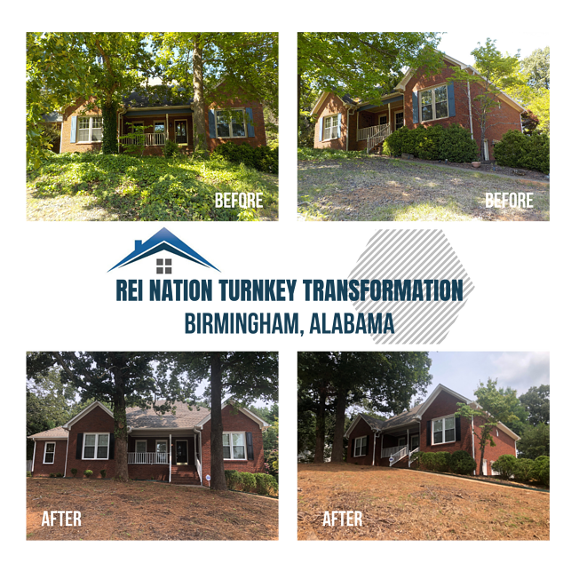 REI Nation Turnkey Transformation: Birmingham, Alabama