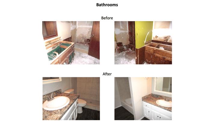 2300 W Dallas St - Bathrooms