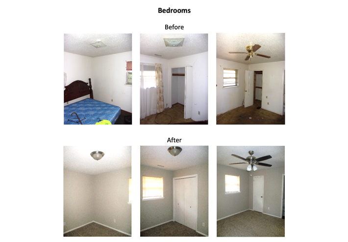 817 S. Scott St. - Bedrooms
