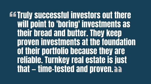 truly successful investors will keep proven investments