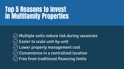 Top 5 Reasons to Invest in Multifamily Properties