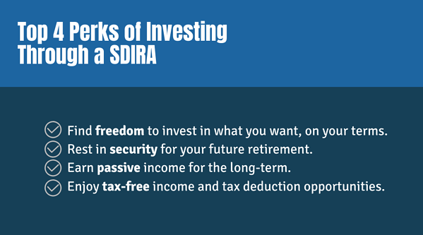 Top 4 Perks of Investing Through a SDIRA