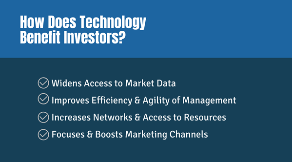 How Does Technology Benefit Investors?