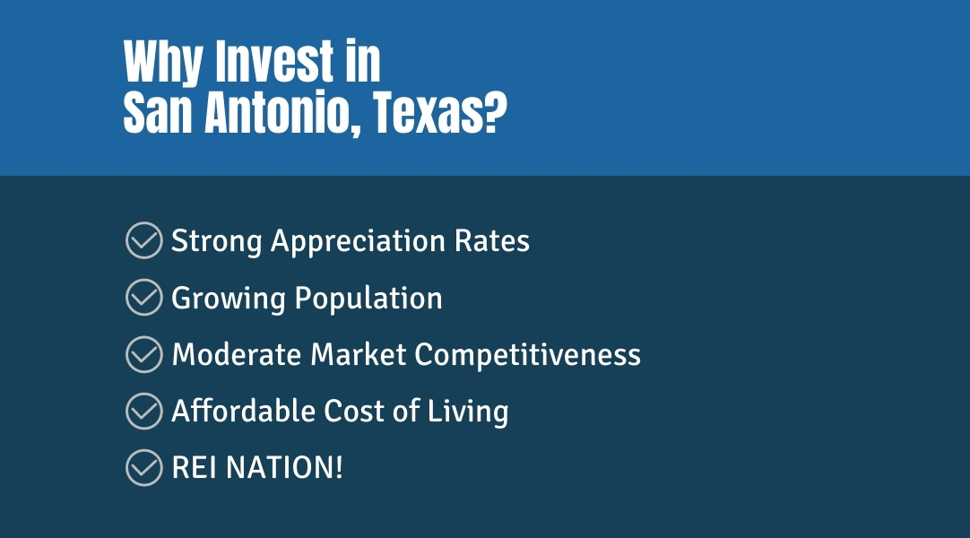 why invest in San Antonio TX