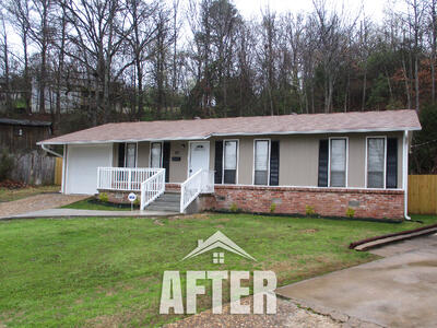 little rock property after photo