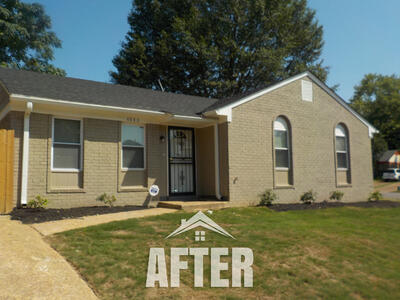 after photo of turnkey property