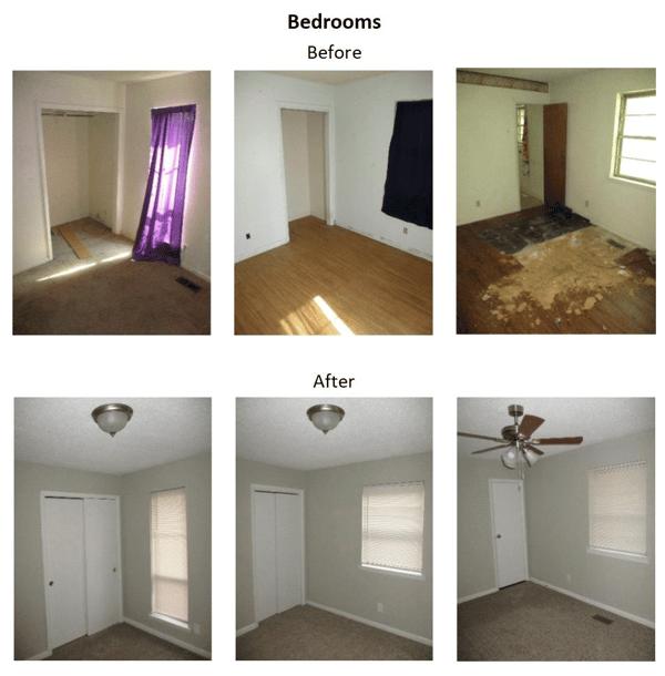 beforeandafter bedroom