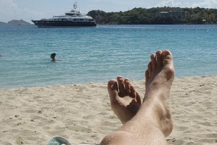 man-at-beach-relaxing